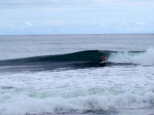 Our Owner on a nice Costa Rican Wave!