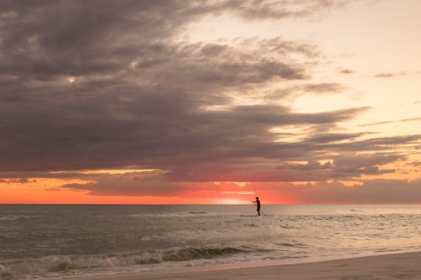 Paddleboarding Panama City Beach