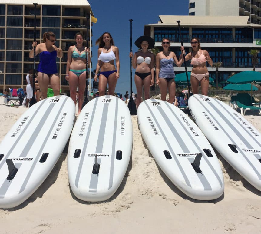 Holiday Inn Resort Panama City Beach Paddleboard Rentals