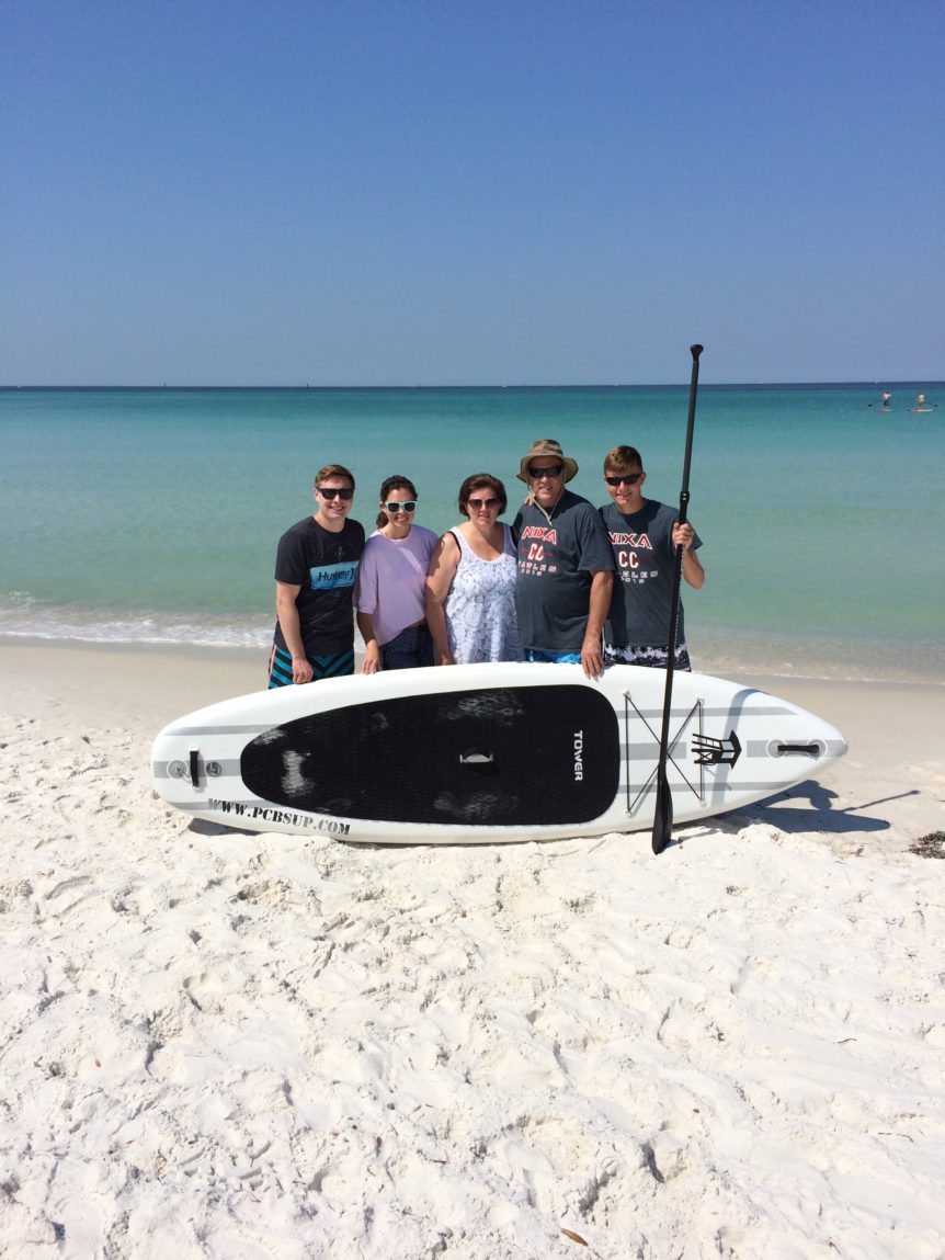 Panama City Beach Paddleboard Delivery